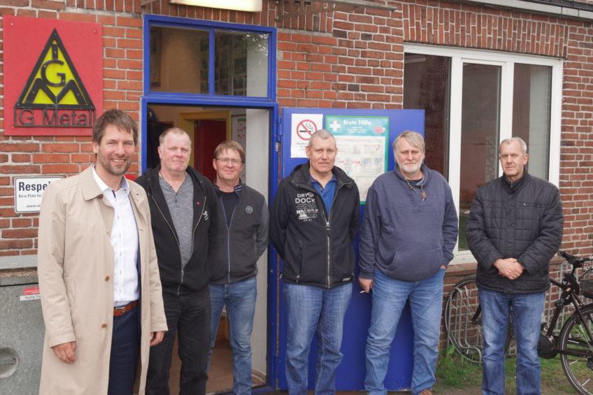 """""""Auf ein Wort"""" – mit dem Betriebsrat der Flensburger Schiffbau-Gesellschaft FSG"""