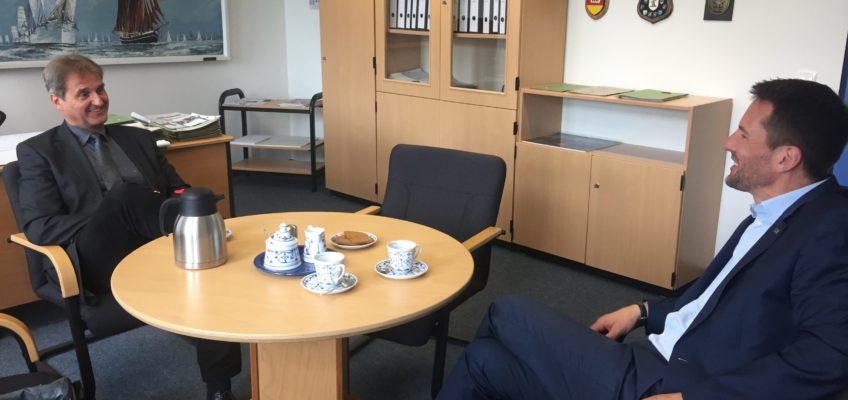 Das Bundeswehr-Dienstleistungszentrum in Husum