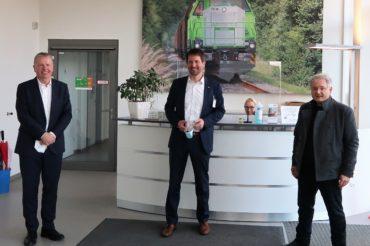 Zu Besuch bei Vossloh Locomotives in Kiel